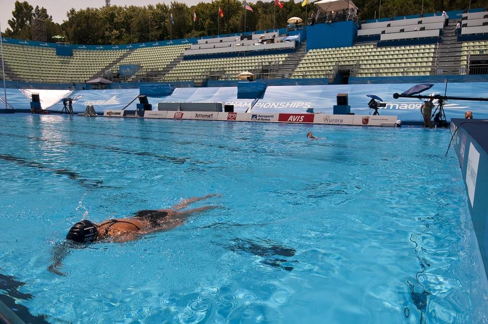 sport, swimming, olympics