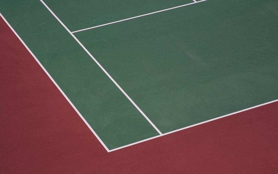 tennis court, court, tennis