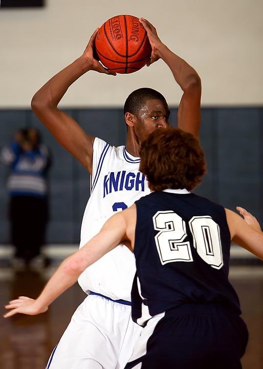 basketball, player, ball