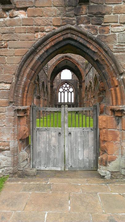 ruin, church ruins, gothic