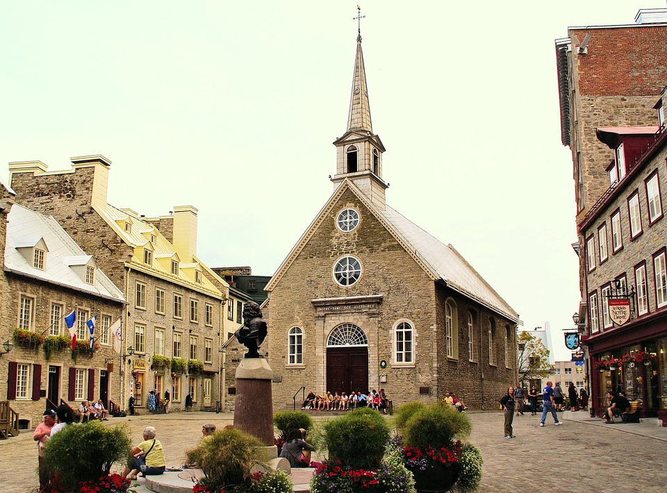 canada, quebec, old town