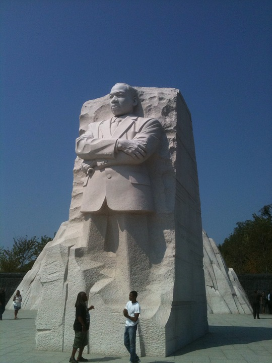 statue, martin luther king memorial, washington