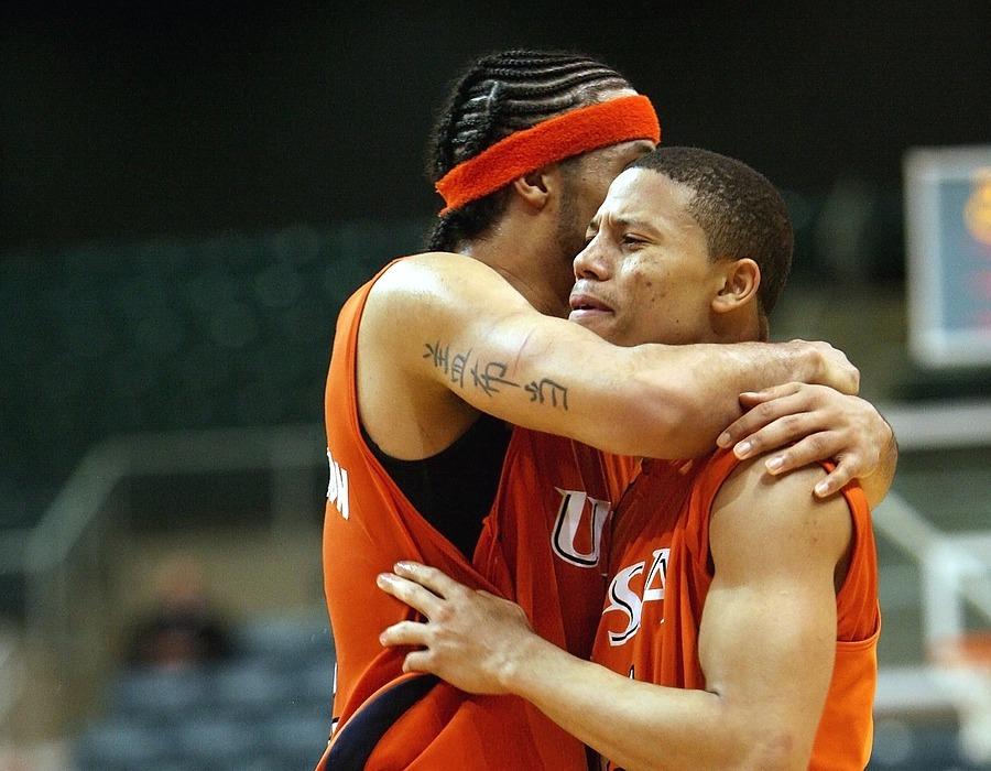 basketball, player, emotion