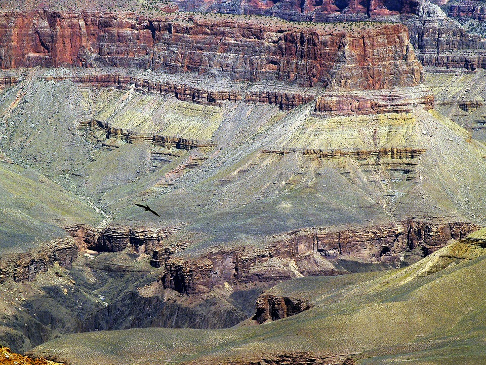 grand canyon, aerial view, tourist attraction