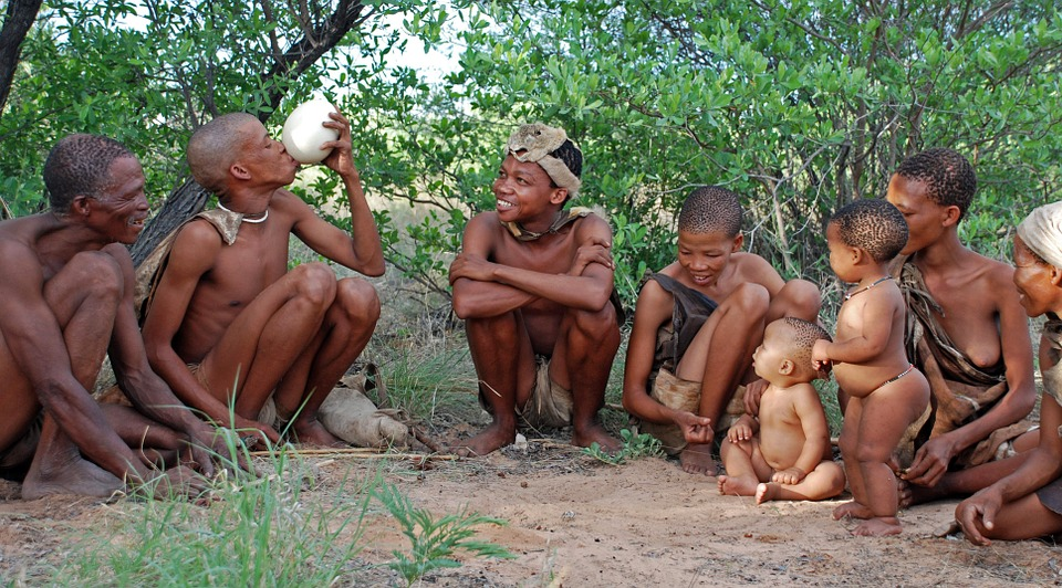bushman, indigenous people, hunter gatherer