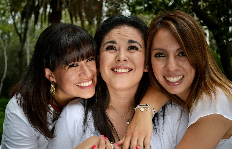 friends, happy people, love
