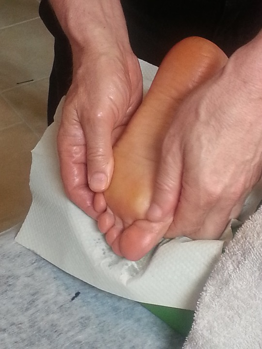 massage, foot, feet