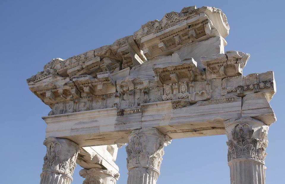 column head, archeology, ancient