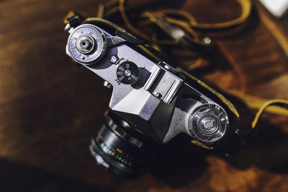 old, vintage, camera