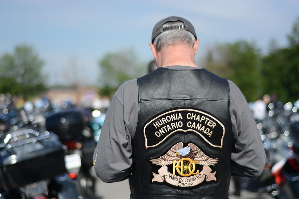 biker, jacket, veteran