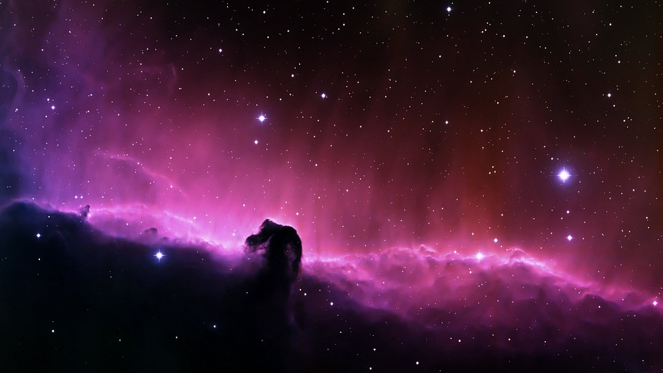 horsehead nebula, dark nebula, constellation