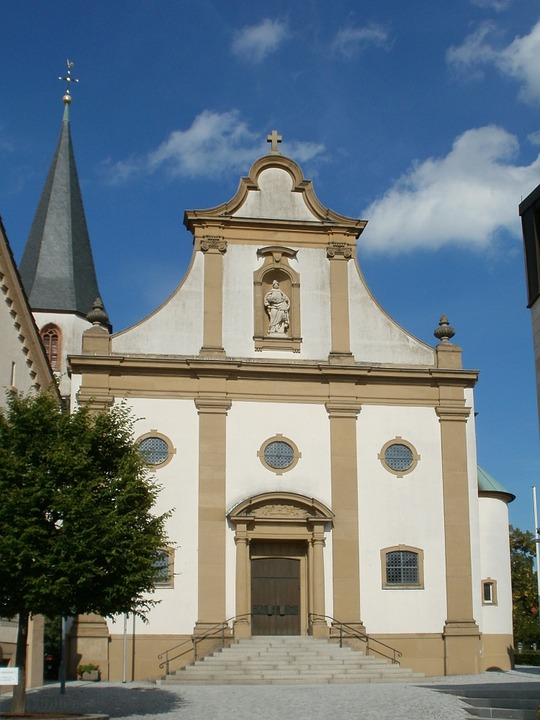 church, front, st juliana