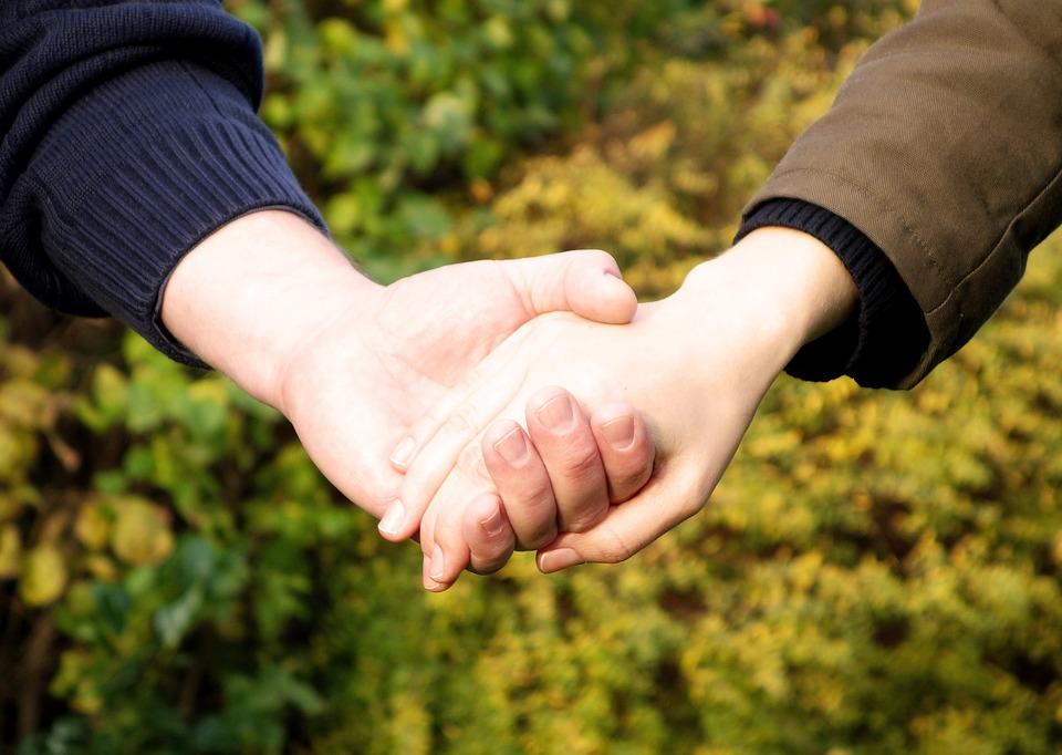 hands, hand, trust