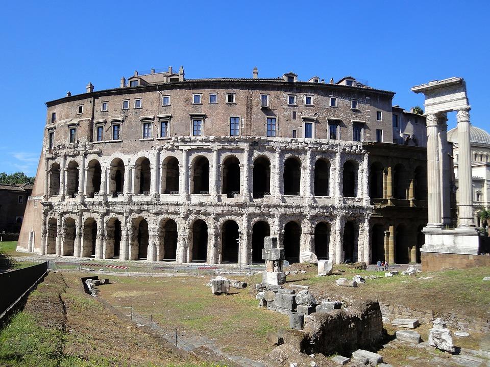 rome, colosseum, monument