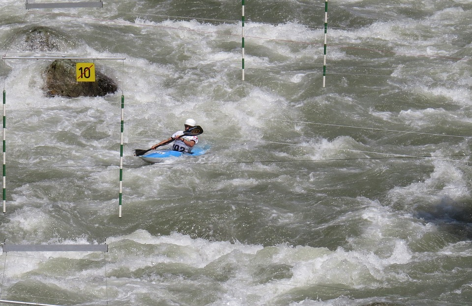 kayak, canoeing, water sports