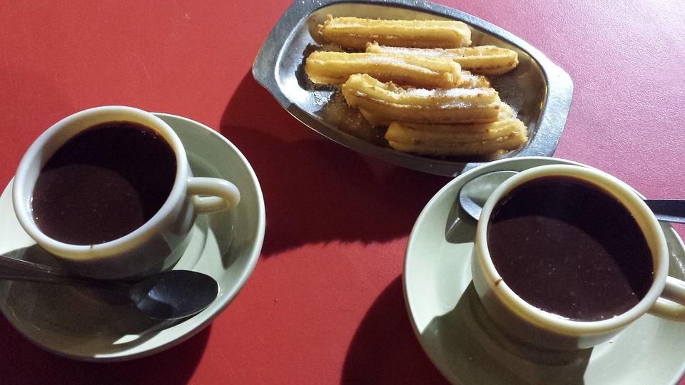 picnic, chocolate undone, churros