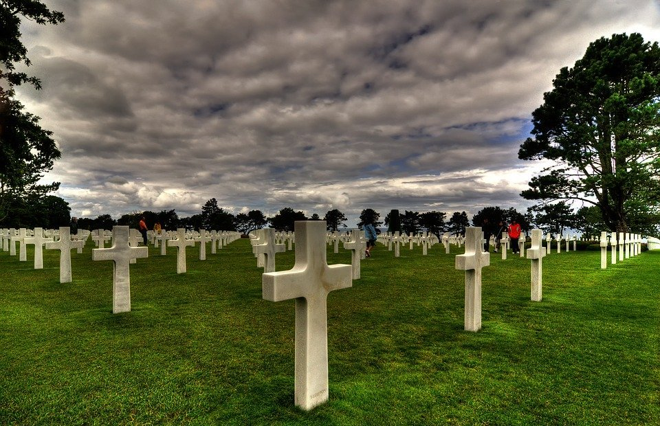 colleville-sur-mer, cemetery, d-day