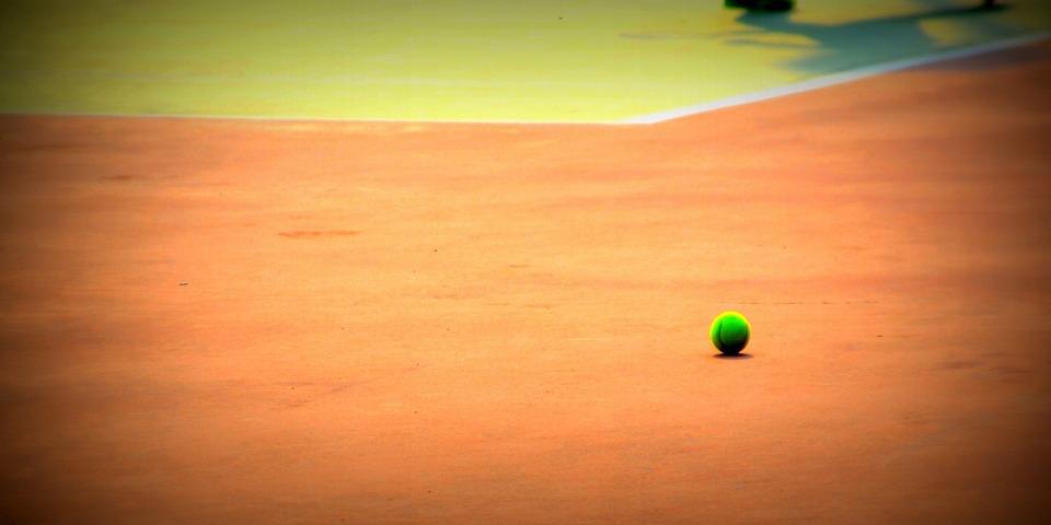 sports, tennis, ball