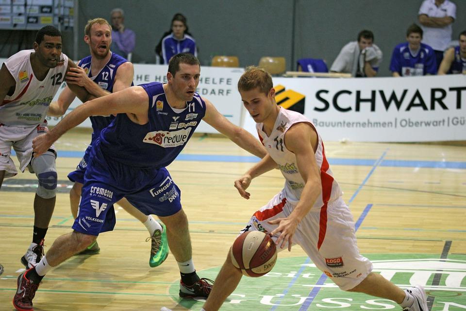 basketball, match, duel