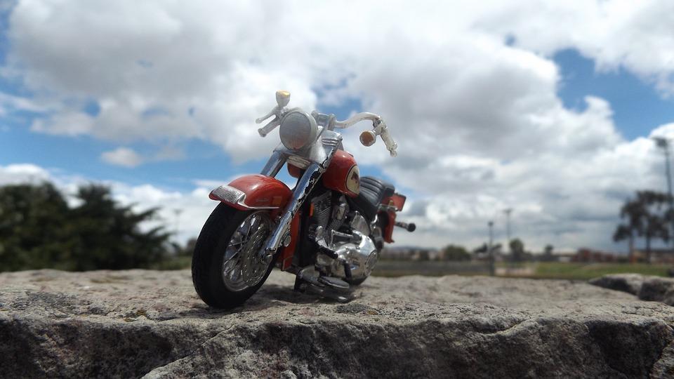 moto, sky, park