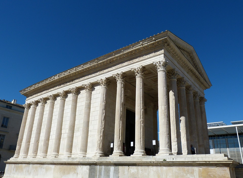 nimes, france, south of france