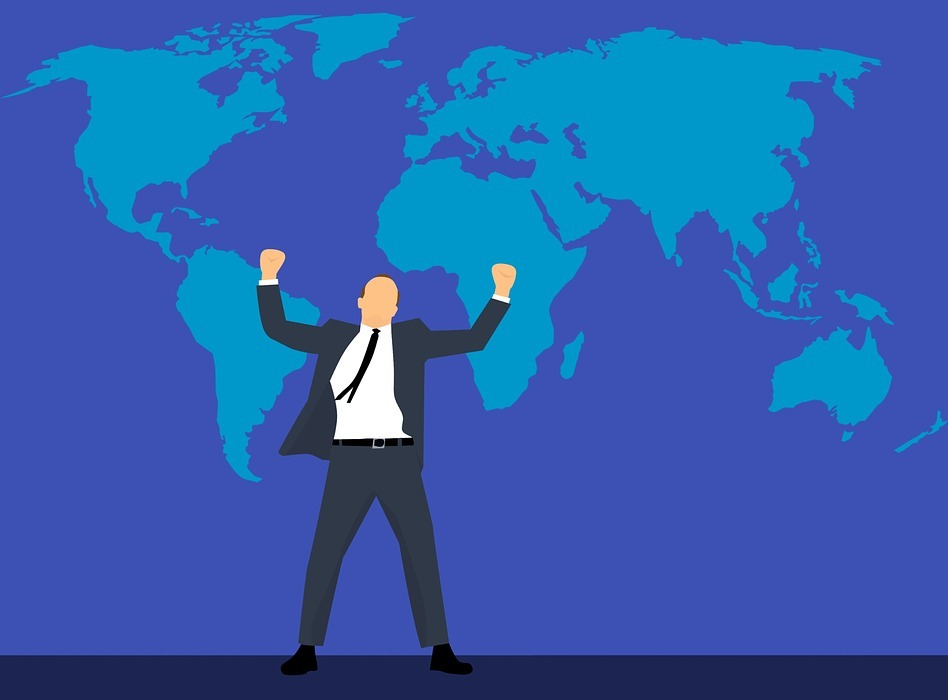 business, leadership, map