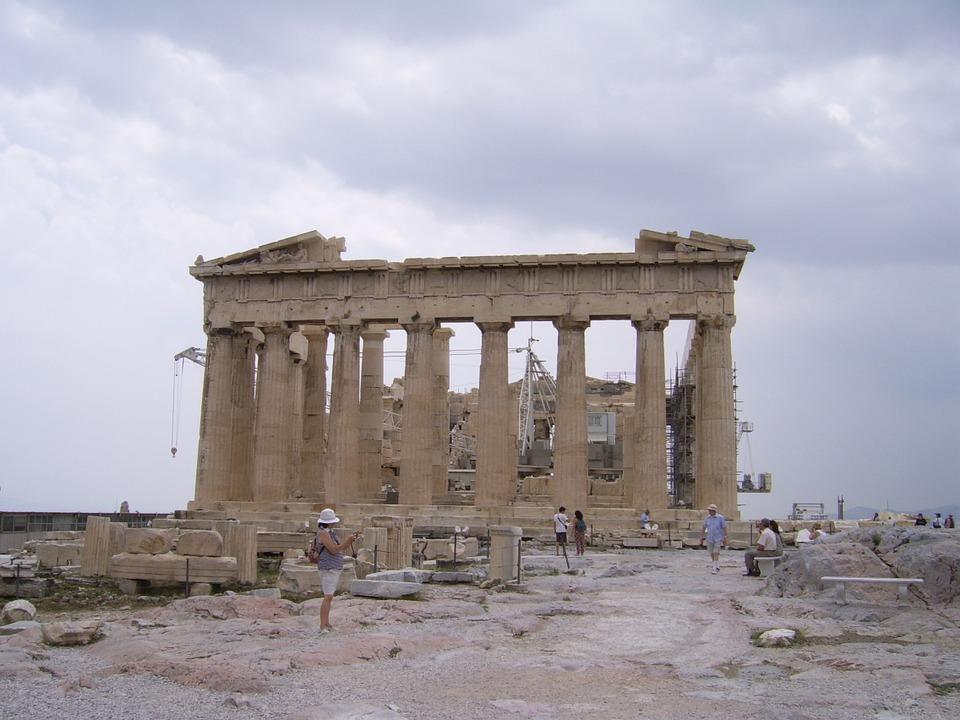 greece, acropolis, building