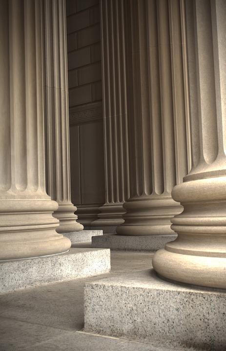 marble, columns, pillars