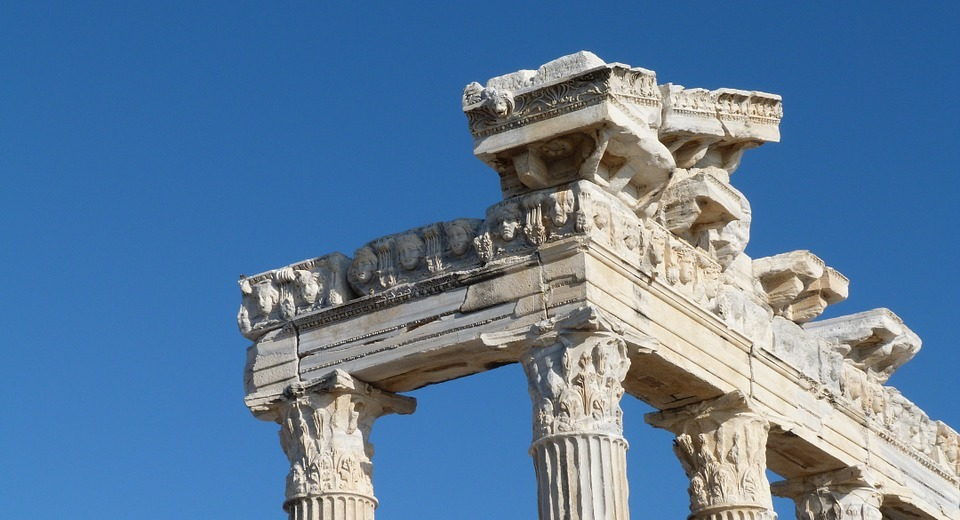 building, architecture, roman