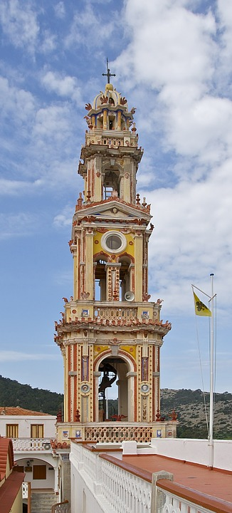saint michael, monastery, bell tower