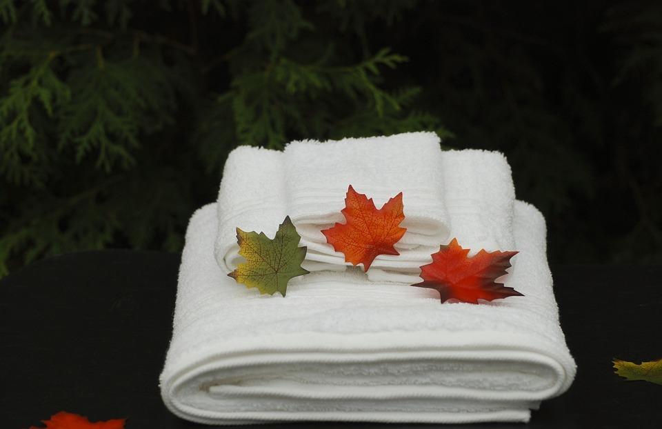 spa, towels, health