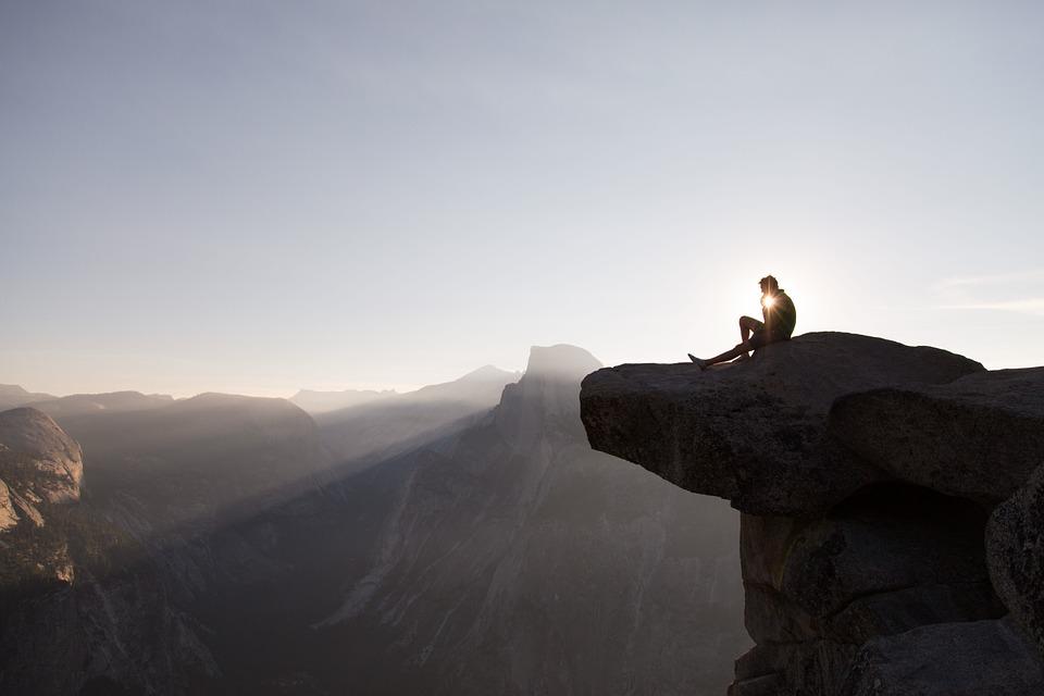half dome, yosemite national park, cliff