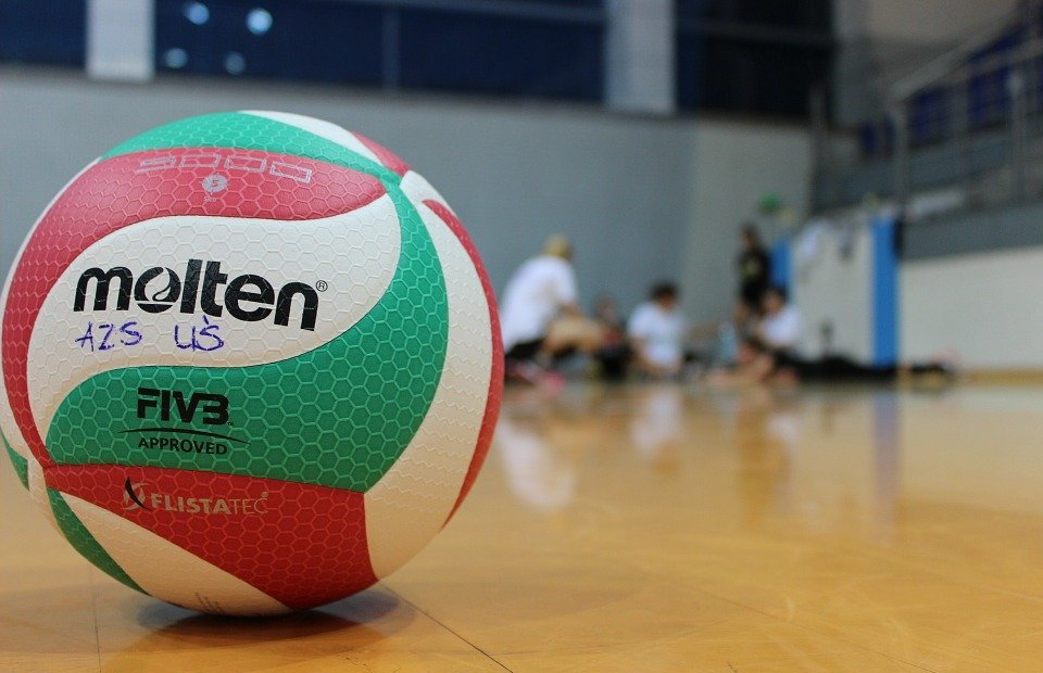 sport, volleyball, the ball