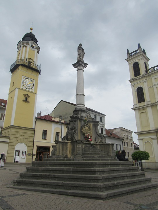 banska bystrica, center, slovakia