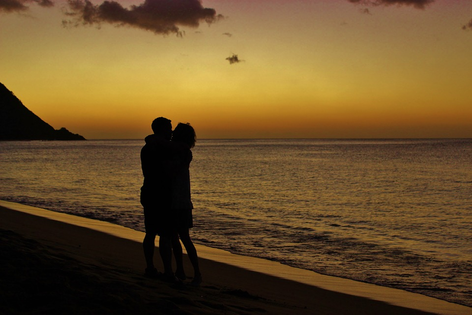 romance, holiday, sunset