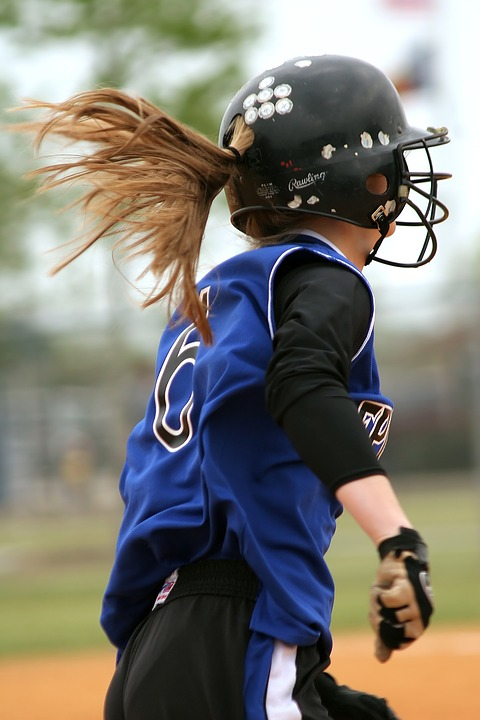 softball, girls softball, female