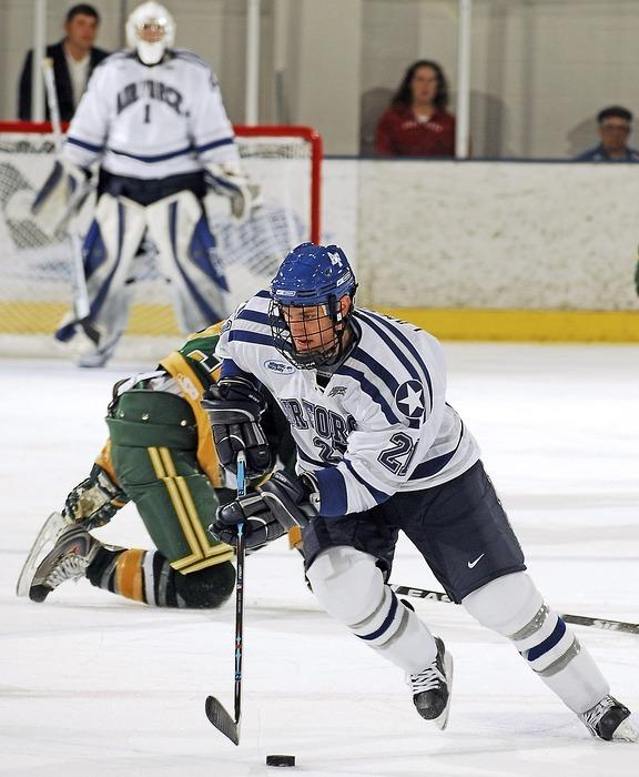 ice hockey, players, pass