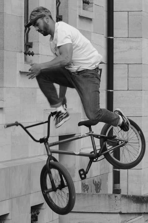 bicycle, bmx, sports