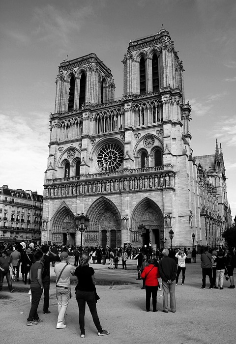 notre dame, cathederal, tourist attraction
