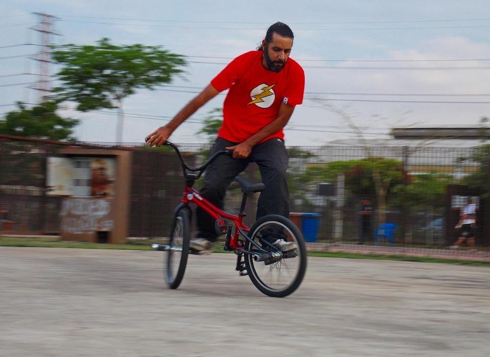 bike, bmx, flatland