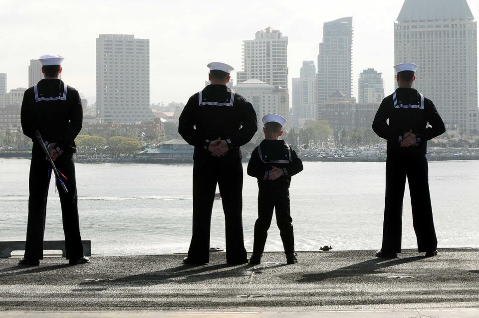 sailors, father, son