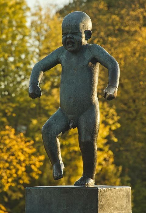 angry, bebe, statue