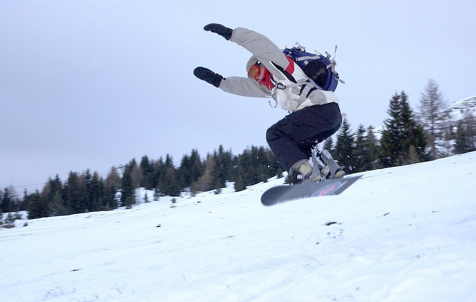 snowboarding, snow, winter