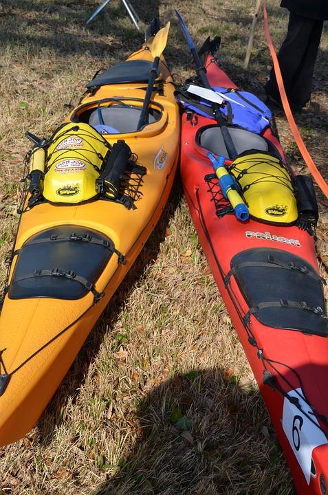 kayaks, rafting, canoes