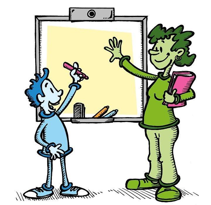 teacher, student, school