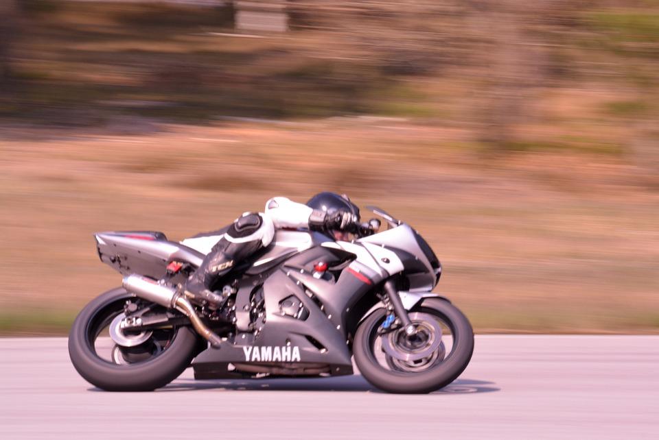 motorcyclist, motorcycle, race