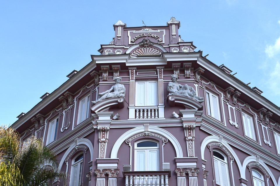 colonial, building, manizales