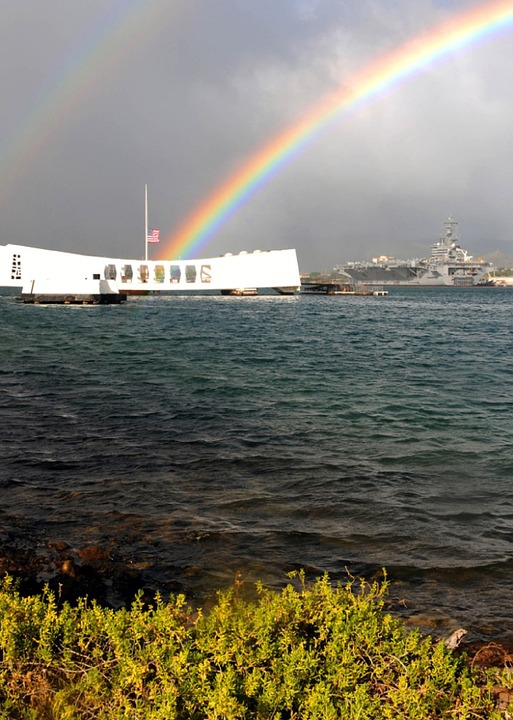 rainbow, honolulu, memorial