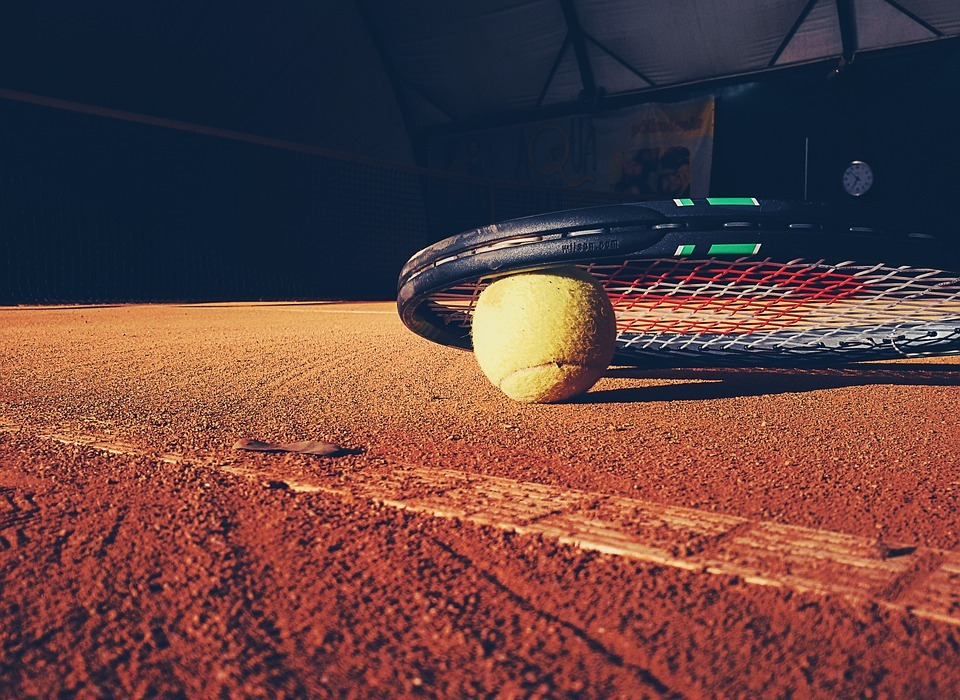 tennis, racket, court