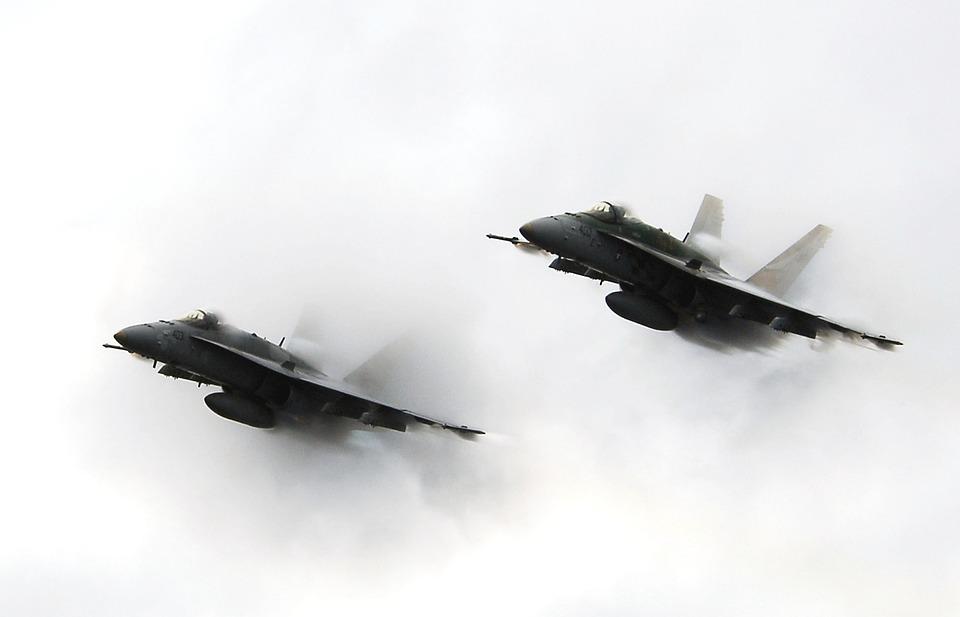 military jets, flight, flying